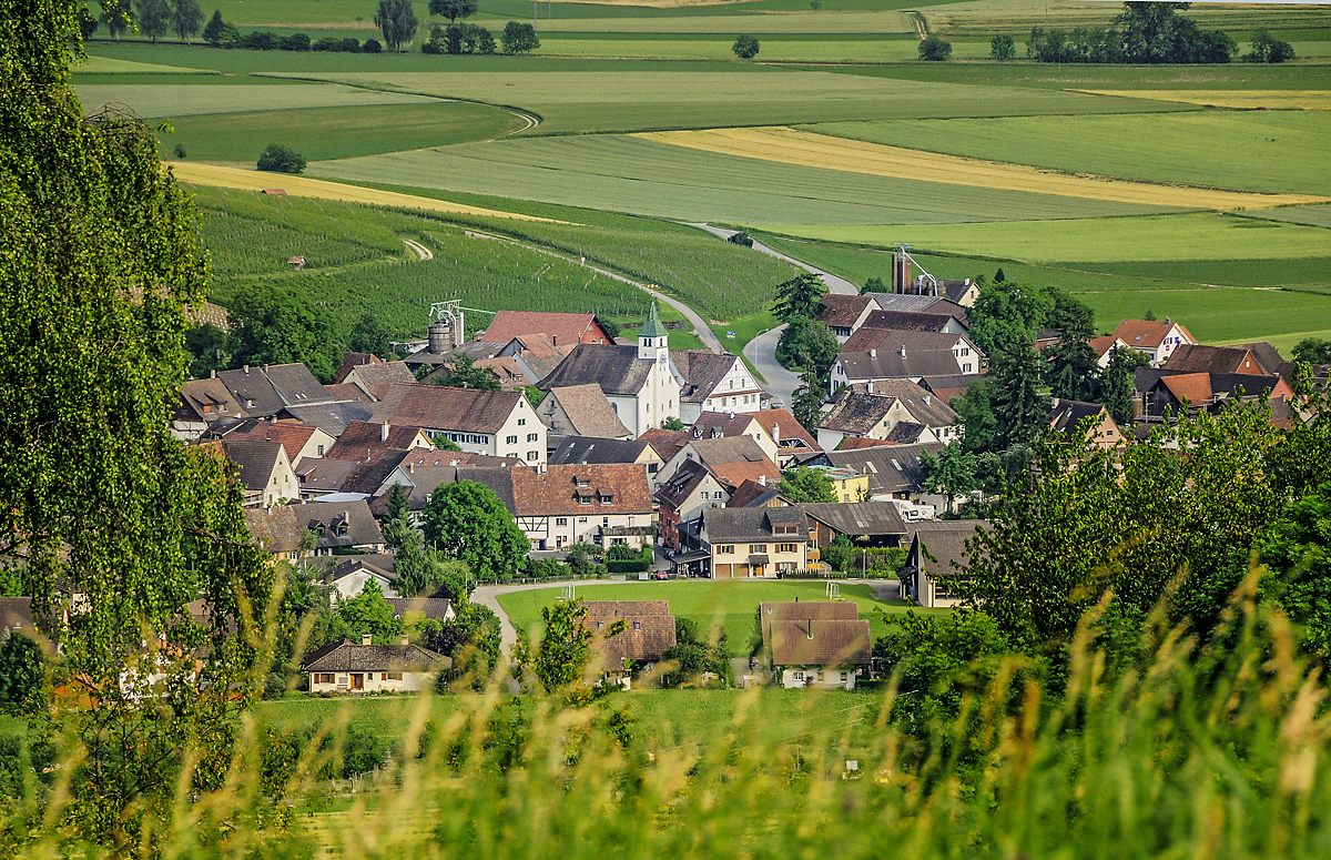 Logez Landschaftsbilder Oberhallau