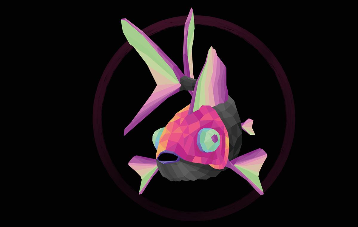 Logez Illustration Aquaristik Fisch