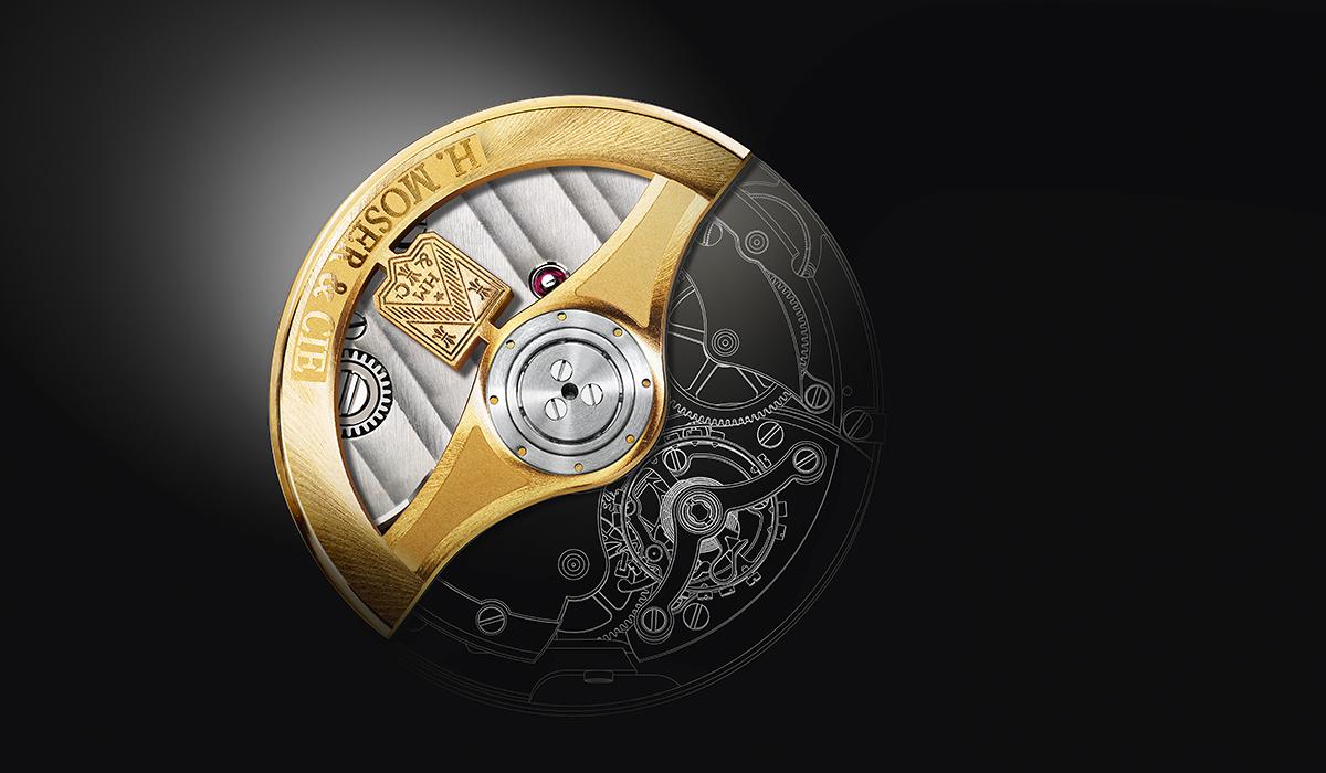 Logez Illustration H-Moser Uhren Rotor