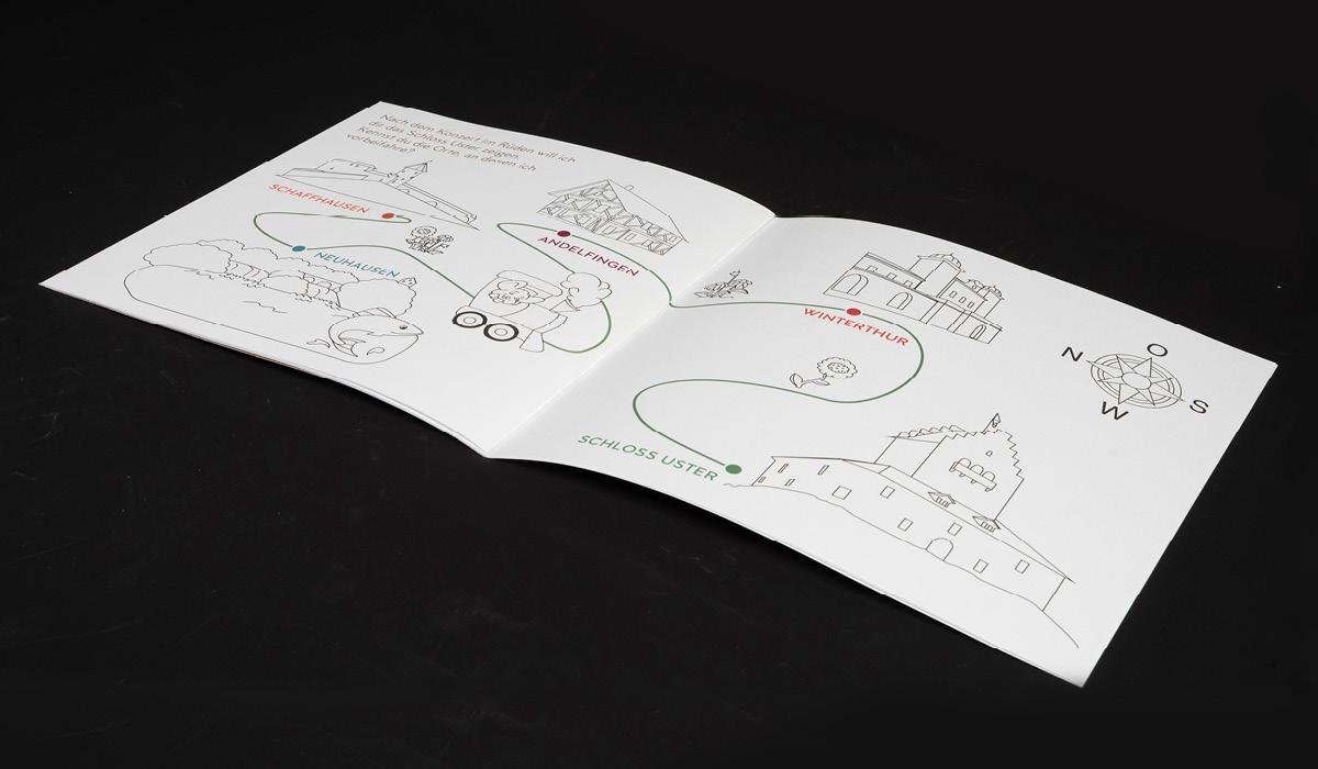 Logez Illustration Malbuch zum Rüden Innenseiten