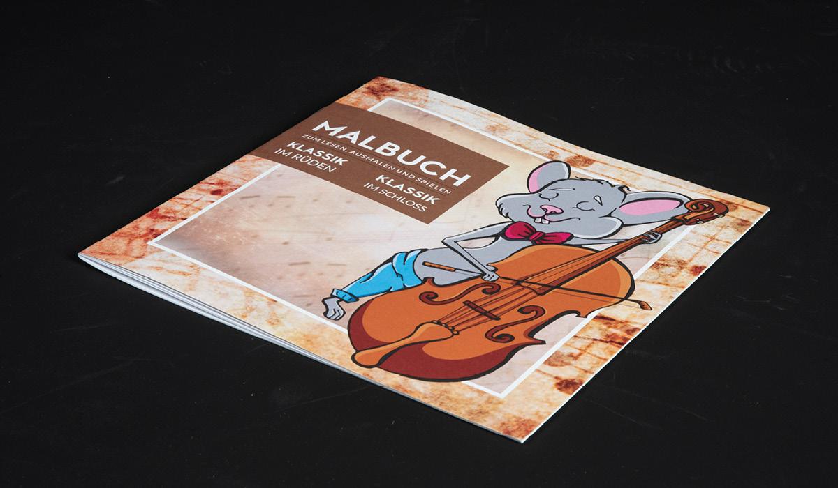 Logez Illustration Malbuch zum Rüden Titelblatt